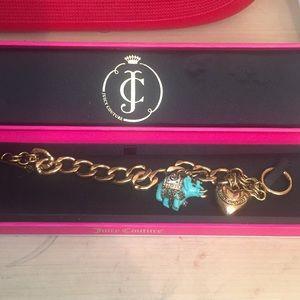 Juicy Couture Gold Starter Bracelet